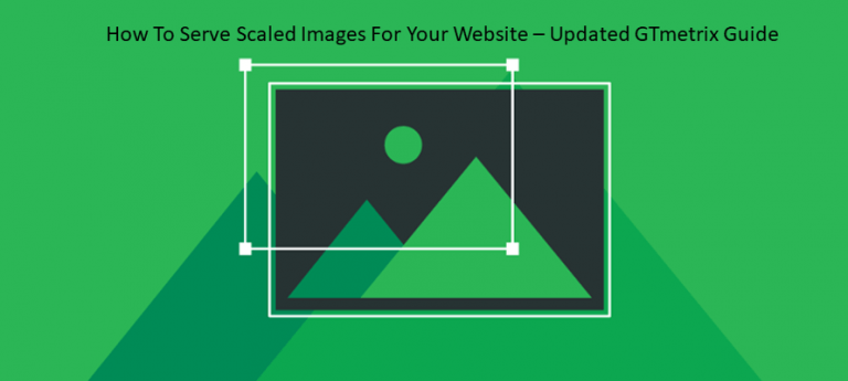 Guide To Fix Serve Scaled Images Warning on GTmetrix
