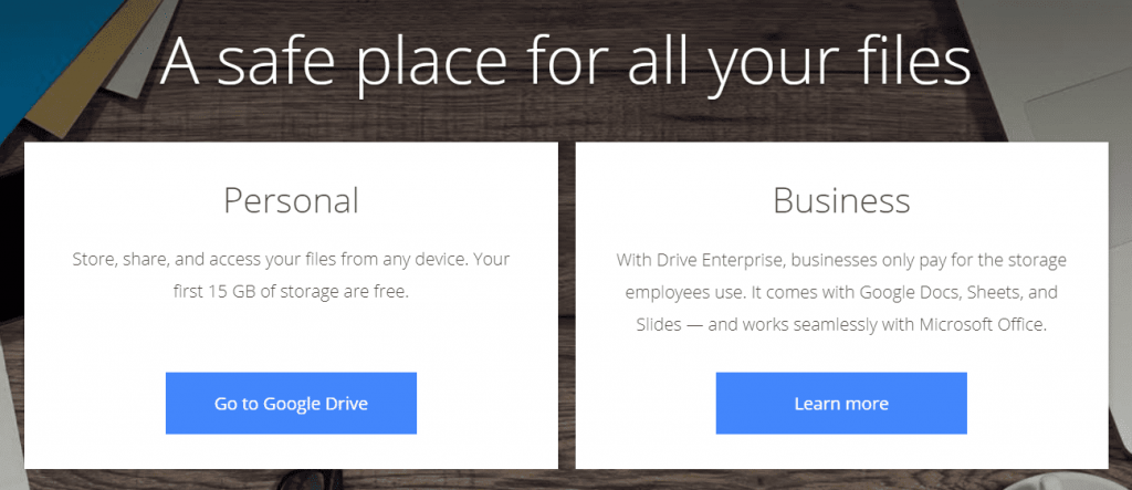 Google Drive  Free Cloud Storage for Personal Use