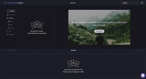 chipchamp online video editor