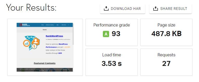 pingdom-result-milesweb-wordpress-hosting