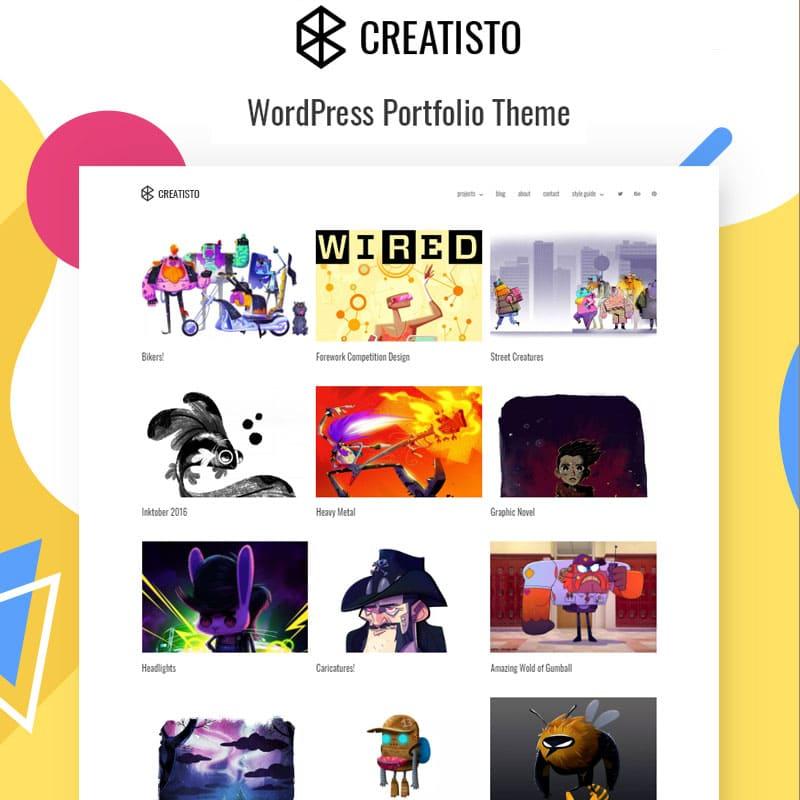Creatisto-portfolio-theme