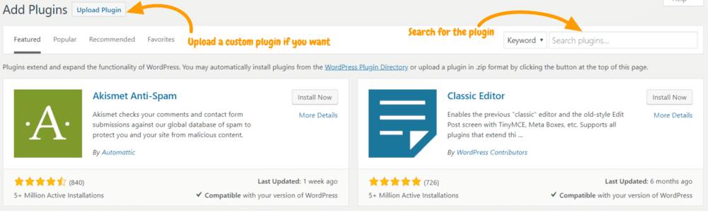 install-plugins-on-wordpress