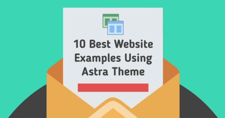 10 Inspiring Astra Theme Example Sites