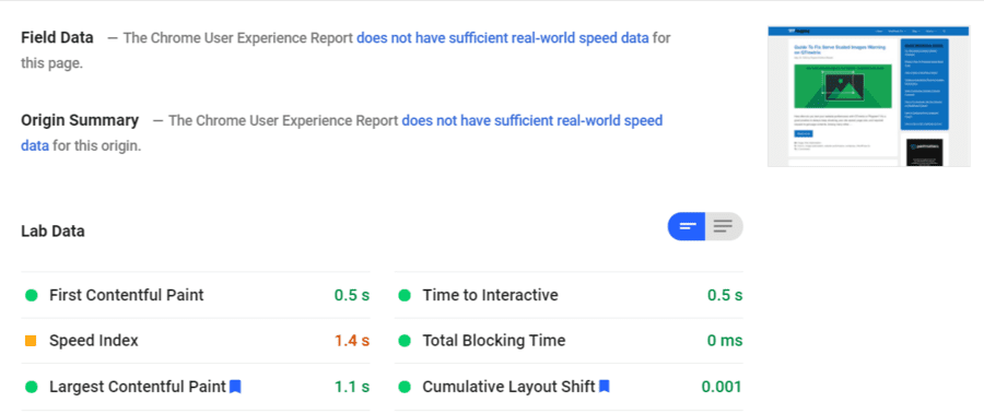 Pagespeed-insights-website-benchmarking-tools